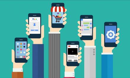 illustrazione mobile marketing